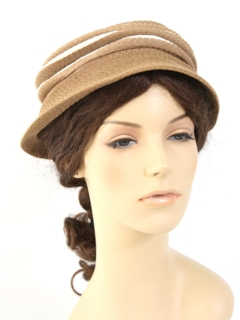 1940's Womens Accessories - Beehive hat