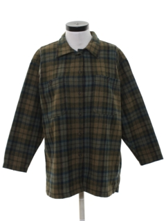 1990's Womens Wool Shirt