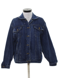 1980's Womens Denim Jacket