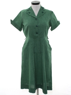 1950's Womens Girl Scout Leader Dress