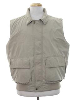 1980's Mens Ski Style Vest Jacket