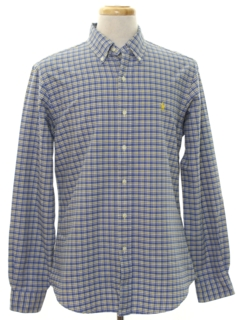1990's Mens Preppy Shirt