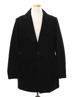 1920's Mens 1800s Victorian Style Coat Jacket