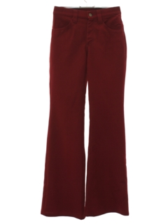 1960's Unisex Bellbottom Mod Western Style Leisure Pants