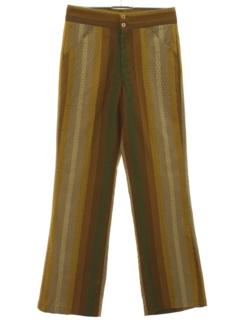 1960's Mens Mod Flare Pants