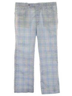 1970's Mens Mod Golf Style Leisure Pants