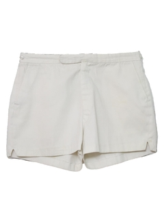 1960's Mens Mod Tennis Sport Shorts