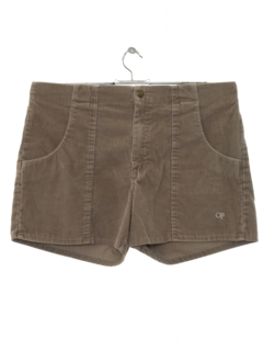 1980's Mens Op Corduroy Shorts