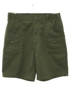 1980's Mens Boy Scout Shorts