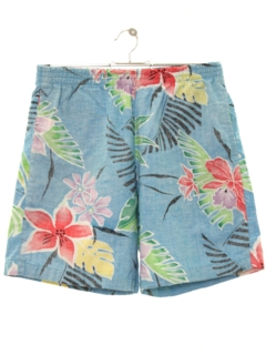 1980's Womens Hawaiian Board Shorts