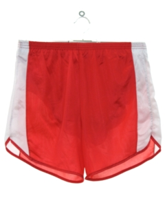1980's Mens Running Sport Shorts