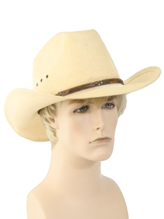 1980's Mens Accessories - Cowboy Hat