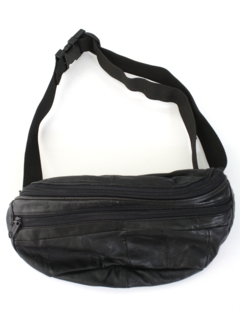 1980's Mens Accessories - Leather Fanny Pack