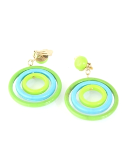 1960's Womens Accessories - Mod Earrings
