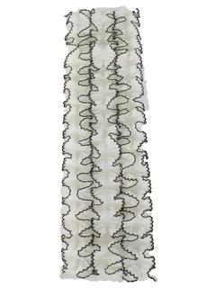 1970's Mens Accessories - Ruffled Tuxedo Shirt Dickie