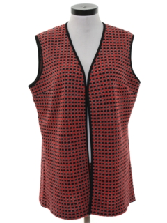 1970's Womens Mod Sweater Vest