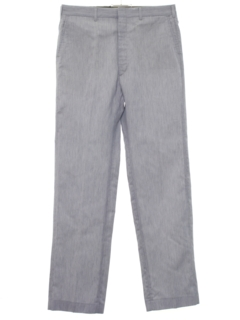 1980's Mens Flat Front Golf Slacks Pants