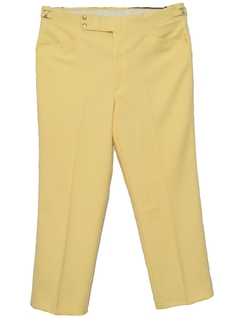 1980's Mens Leisure Style Golf Pants
