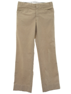 1980's Mens Designer Leisure Style Slacks Pants