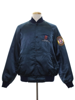 1980's Mens Work Style Baseball Jacket