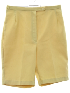 1960's Womens Mod High Waisted Shorts
