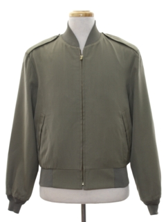 1980's Mens Marines Military Cafe Racer Style Bomber Jacket