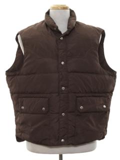 1970's Mens Western Style Ski Vest Jacket