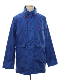 1980's Mens Sailing Windbreaker Zip Jacket
