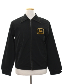 1970's Mens Work Zip Jacket