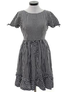 1970's Womens Square Dance Dress