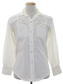 1950's Mens Rodeo Style Western Shirt