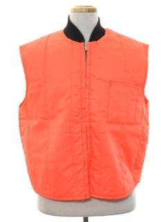 1980's Mens Hunting Vest