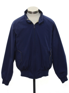 1980's Mens Reversible Golf Zip Jacket