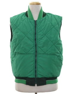 1980's Mens Reversible Totally 80s Ski Vest Jacket