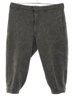 1980's Mens Wool Knicker Pants