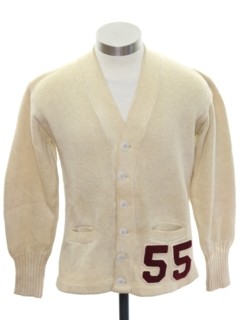 1950's Mens/Boys Cardigan Sweater