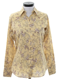 1970's Womens Hippie Style Western Shirt