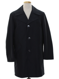 1970's Mens Overcoat Trenchcoat Jacket