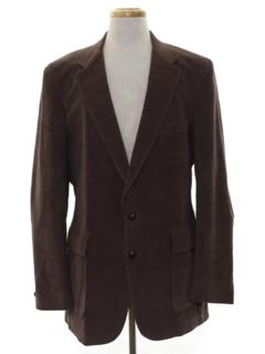 1980's Mens Corduroy Blazer Sport Coat Jacket