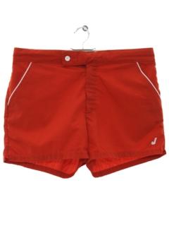 1970's Mens Mod Sport Shorts