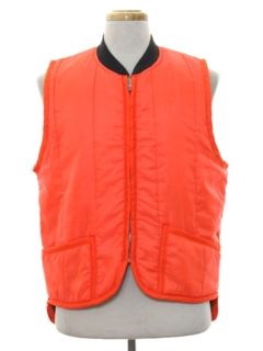 1980's Mens Hunting Ski Style Vest
