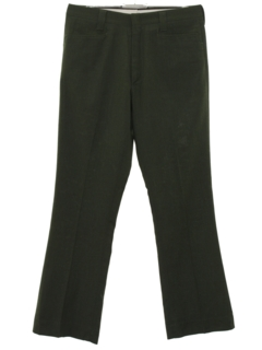 1960's Mens Flared Leisure Style Slacks Pants