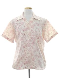 1960's MensMod  Sport Shirt
