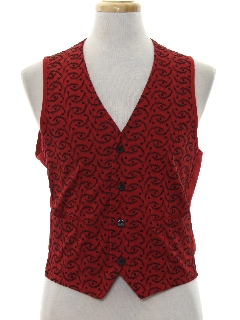 1980's Mens Totally 80s Vest