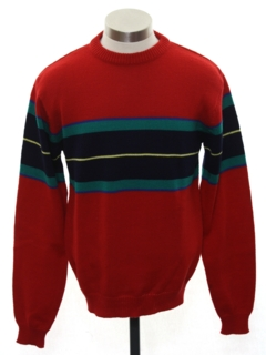 1970's Mens/Boys Mod Pullover Sweater
