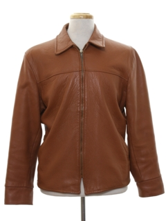 1960's Mens Mod Leather Jacket