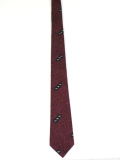 1960's Mens Rockabilly Necktie