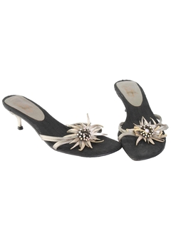1960's Womens Accessories - Leather Sandals Shoes