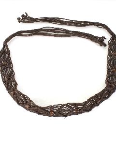 1970's Womens Accessories - Hippie Belt