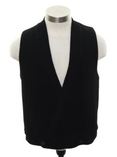 1950's Mens Wool Vest